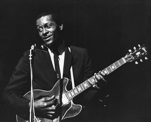 Chuck Berry Performing