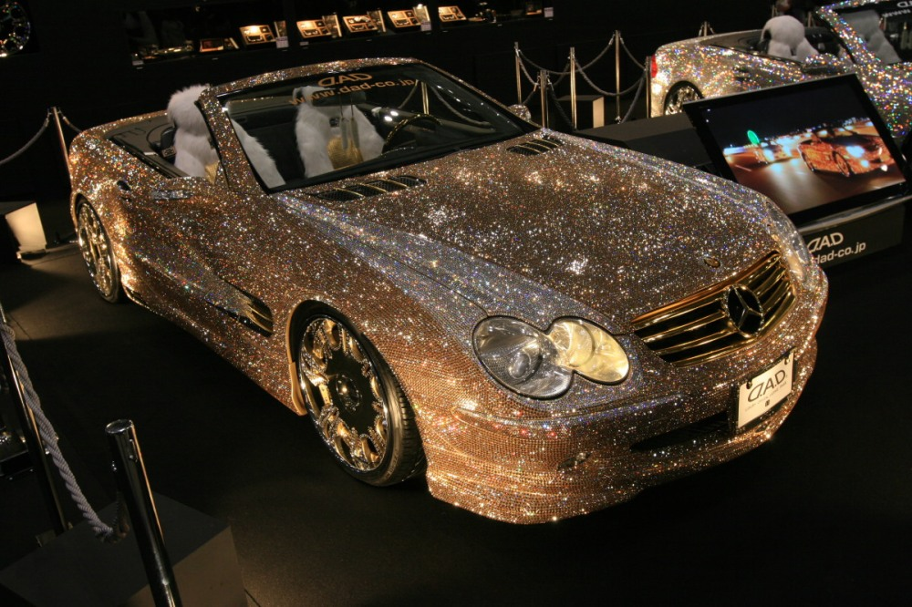 diamond-covered-mercedes