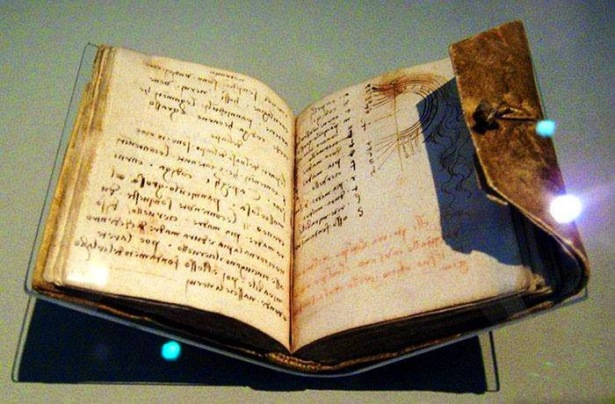 cuaderno leonardo da vinci